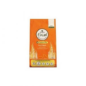 Burgess Excel Savoureux pépites Cochon d'Inde Nourriture (2KG) (lot de 6)