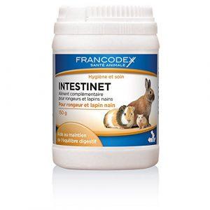 Francodex – Aliment Intestinet qui maintien l'Équilibre Digestif pour Rongeur – 150g