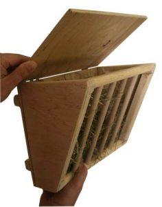 Kerbl Maisonnette Angulaire pour Rongeurs 25x17x20 cm