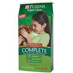 Lapin Chow complet Advantedge par Purina Mills Inc. 11,3 kilogram.