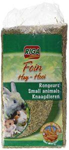 Riga Foin avec Carottes pour rongeurs 500 g – Lot de 2