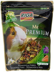 Riga Menu Premium Nourriture pour Cochon d'Inde – Lot de 3