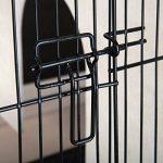 CAGE LAPIN-COCHON D'INDE d'Interieur ou d'extérieur avec roues HUTCHLAND
