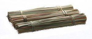 CROCI Mou en Bois Herbe Vert pour Petits animaux 10×3 cm – Lot de 2