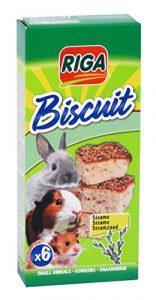 Riga Biscuits au Sésame pour Rongeur par 6 – Lot de 3