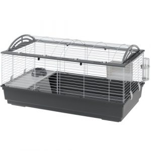 Ferplast Casita 120 Cage pour Lapin Gris 119 * 58 * 61 cm