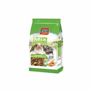 Riga Nourriture Menu Mix pour Lapin Nains à la Carotte 1,5 kg – Lot de 2