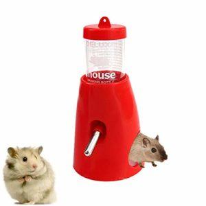 HEELPPO Abreuvoir a Lapin Abreuvoir Lapin Pet Potable Distributeur Petit Animaux Eau Feeder Chien Caisse Bouteille d'eau Lapin Distributeur d'eau
