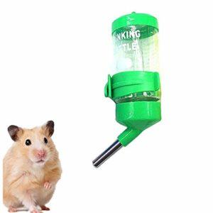 WFWUK Foin Lapin Ratelier A Foin Lapin Biberon Rongeurs Distributeur Nourriture Lapin Lapin Accessoires Lapin Alimentaire Distributeur Hamster d'alimentation Automatique Water Bottle