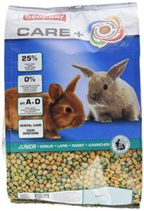 Beaphar – Care+ alimentation super premium – lapin junior – 1,5 kg – Lot de 4