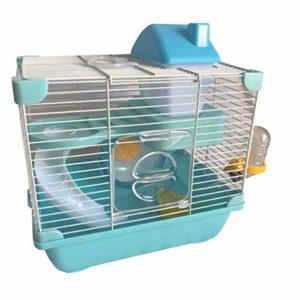 Cage équipée 29 x 21 x 30 cm pour hamster, petit rongeur – K818 – Happet