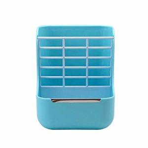 GZQDX Gamelle, Lapin de Foin Chargeur Autopetfeeder Lapin Lapin Nourriture Distributeur Accessoires Petit Dispositif d'alimentation Animale Hamster Feeder Pet Supplies Bleu