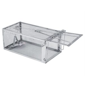 HelloCreate Cage piège à souris pour rats et rongeurs
