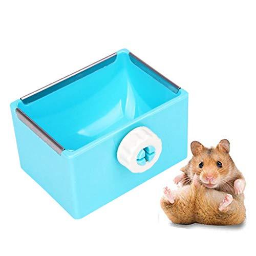 lffopt Foin pour Lapin Nourriture Lapin Foin de Lapin Titulaire Hamster Alimentaire Bols d'alimentation pour Animaux de Compagnie Bols Lapin Accessoires Blue