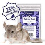 Petpost | Sable de Bain pour des Chinchillas – Sable Naturel de Pierre Ponce pour Bain Petits Animaux, octodons, Hamsters et gerbilles (.45 kg)