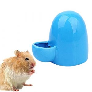 WPCASE Abreuvoir a Lapin Biberon Lapin Automatique Pet Feeder Pet Distributeur d'eau Pet Potable Distributeur Céramique Pet Alimentation Lapin Eau Feeder Blue
