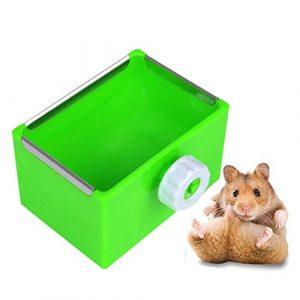 WPCASE Gamelle pour Lapin Foin pour Lapin Hamster Alimentaire Bols Foin de Lapin Titulaire Guinée Porc Alimentaire Bol Lapin Alimentaire Bol Green