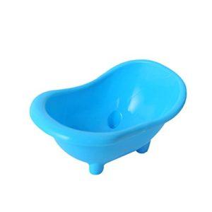 Yeshai3369 Mini Baignoire WC pour Petits Animaux domestiques Hamster Gerbils Couleur aléatoire