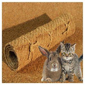 MW.Shop.24 Tapis pour rongeurs 100 % fibres de coco, tapis pour rongeurs, cage de lapins, cochons d'Inde, hamster, dégus, rats et autres rongeurs