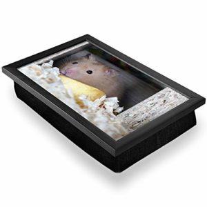 Pouf de bureau de luxe confortable, fonctionnel et portable – Pour hamster, rongeur, souris rat #15998