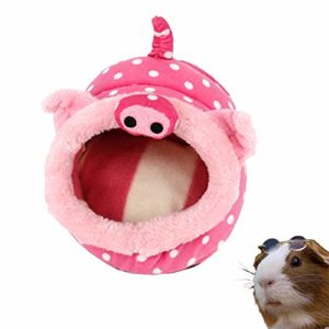 Puleidi Lit pour cochon d'Inde – Accessoires lavables pour cage à cochon d'Inde, chinchilla, hamster, hérisson
