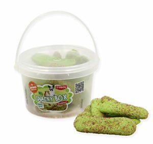 Tyrol Friandise/Biscuit à Ronger Cookies aux Légumes My Snacky Box Boite Référable pour Lapin/Rongeur 120 g