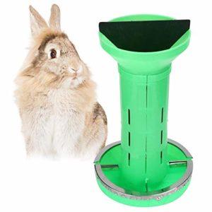 2 en 1 Petit Animal Automatique Nourrisseur Lapin Distributeur D'alimentateur Petits Animaux Bols pour Lapin Cochon d'Inde Chinchillas Hamster