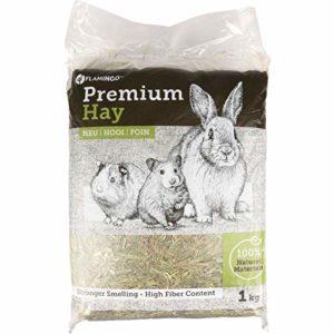 FLAMINGO – Foin de pré Premium Nature. 1 kg Soit 30 litres. pour Rongeur. – FL-210290