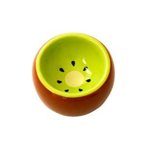 Hamster Bol en céramique empêcher le Mouvement de Bascule et Chewing Merveilleux Plat de nourriture pour petits rongeurs gerbille Hamster souris Cochon d'Inde Australis Hérisson