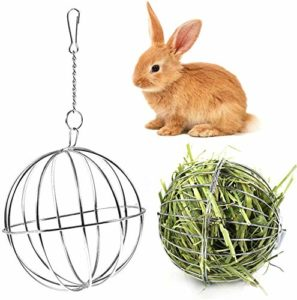 JKGHK Lapin Hay Feeder Hay Ball Pet Feeder Pet Feeding Bowls Guinée Pig Lapin Hay Holder Hamster Feeder Automatic