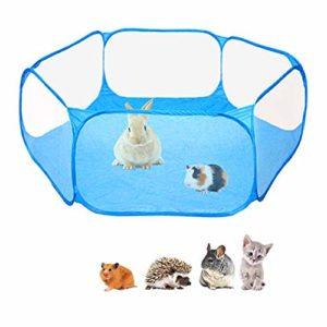 Jouet De Hamster, Parc pour Cochon d'Inde Petit Animal Cage Tente Exercice Tence Pop Ouvert Pet Play Pen Run Intérieur Extérieur Extérieur Hamster, Lapins, Chinchillas, Hérissons
