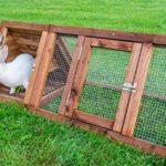Nativ Clapier en bois pour lapins, lapins, cochons d'Inde, hamsters et autres petits animaux