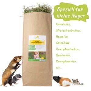 Sonnenberg Hof 1 kg Original Südtiroler foin / 1ère coupe pour lapins cochons d'inde hamster et autres rongeurs I foin de prairie I foin de prairie pour petits animaux