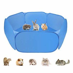 Zacro Tente légère et Portable pour Petits Animaux, Cage de Jeu pour Animal Domestique pour Cochon d'Inde, Lapins, Hamsters, Chinchillas et hérissons