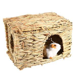 Hamster Hamac Petit Animal Domestique Lit Suspendu Mignon Nid Chaud Cage pour Rat Perroquet Furet Écureuil Cochon D'inde Hérisson Chinchilla