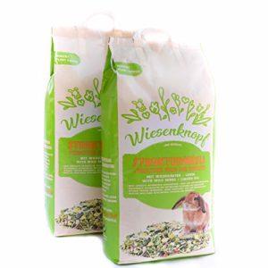 Wiesenknopf 15kg d'alimentation structurée pour lapins avec herbes
