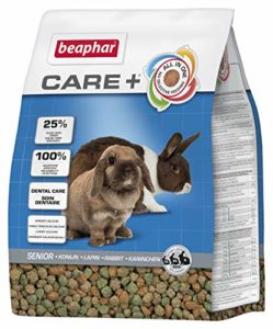 Beaphar Care+ alimentation super premium – lapin sénior – 1,5 kg