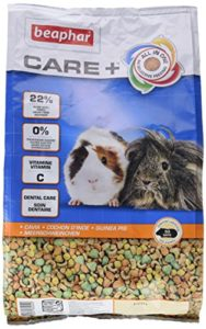 Beaphar – Care+ alimentation super premium – cochon d'Inde – 1,5 kg – Lot de 4