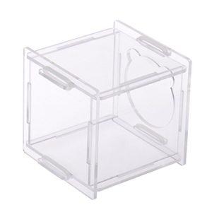 Hjuns® Maison pour hamster en Acrylique pour Lapin Souris Hamster Rongeur