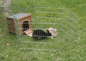 Kerbl Maisonnette pour Petits Animaux Outdoor 36x36x40 cm