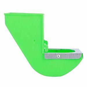 Nannday Mangeoire d'auge de Lapin d'installation Simple, Bol de Lapin matériel d'ABS de Haute résistance, Outils d'équipement pour l'élevage de Lapins