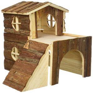 Trixie 6129 Natural Living Bjork Maison pour lapin ou petit rongeur 31 × 28 × 29 cm