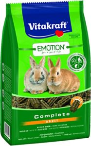 Vitakraft Emotion Complete Adult, Lapins Nains, Lot de 5 (5 x 800 g)