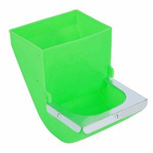 Worii Bol de Lapin en matériau ABS Haute résistance, mangeoire à Auge pour Lapin à Installation Simple, pour Les Outils d'équipement de Magasin d'élevage de Lapins alimentent l'eau
