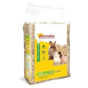 Animalis Litière Végétale pour Rongeur 5L