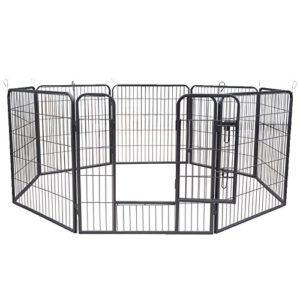 Aqpet Clôture de box pour animaux Chiens, chats, rongeurs 80x 80cm pour extérieur, jardin