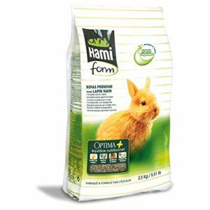 Hami – Form Repas Premium Pour Lapin Nain 2,5 Kg