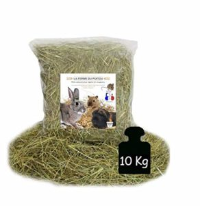 Maisange LA Ferme du Poitou – Foin pour Lapins ET RONGEURS – DE 500GR A 10 KG – Qualite SUPERIEUR (10KG)
