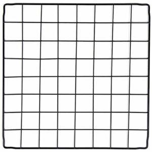 PILIN Organisateur de Cubes de Rangement en Fil de métal Noir, Cage à Petits Animaux Bricolage pour Lapin, cochons d'Inde, Chiot | Pet Products Clôture portative en Fil métallique (36 PCS)