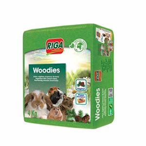 Riga 13685 Litière Copeaux de Bois pour rongeurs 4 kg